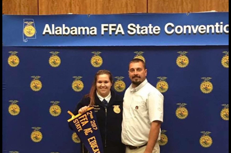 Johnson Receives FFA's Highest Honor