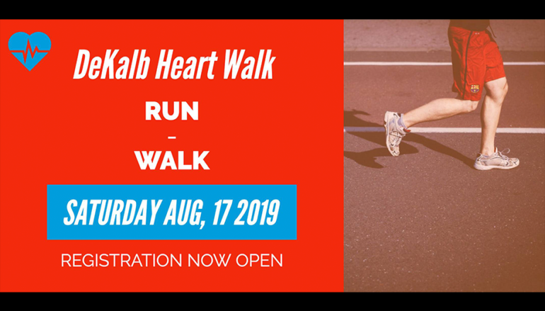 DeKalb Heart Walk