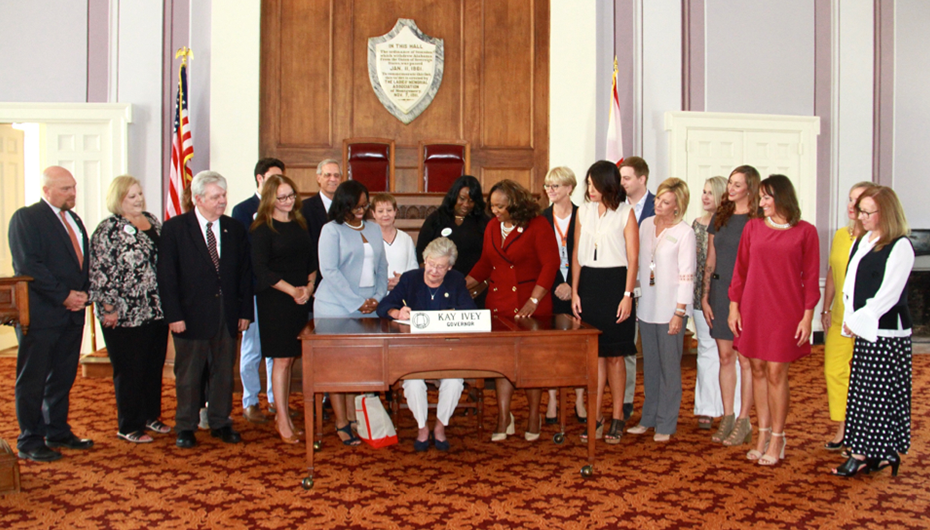 Ivey Signs Bill to Require CDL Human Trafficking Training