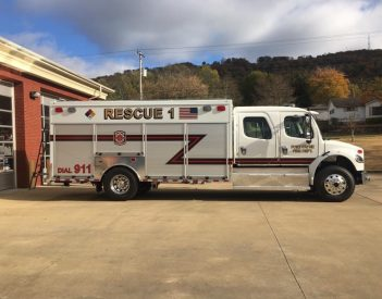 FPFD Receives Rescue Vehicle