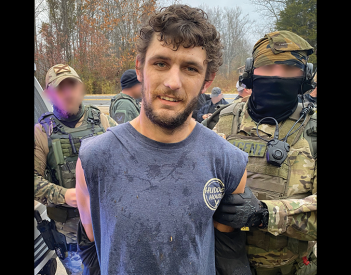 Jared Haggard Captured this Morning after Manhunt