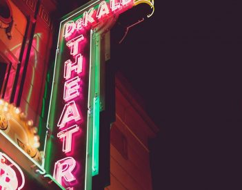 Talks to Makeover Theatre Sign