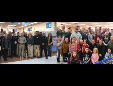 Local Law Enforcement Gives Back