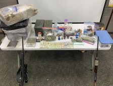 Narcotics & Interdiction Unit seizes 25 Pounds of Marijuana, Meth, & Guns