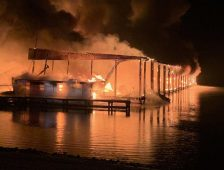 Dock Fire Turns Deadly