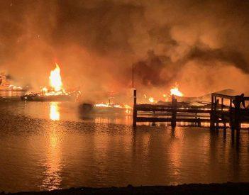 Scottsboro Fire & Rescue Updates on Dock Fire