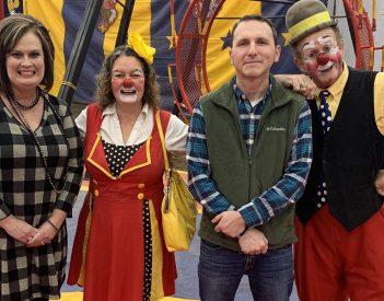 Torch Talk at the Loomis Bros. Circus!