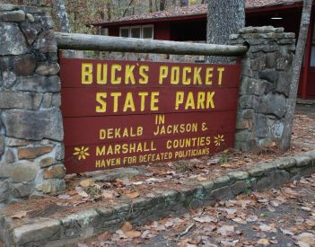 Car & Driver Missing at Buck's Pocket