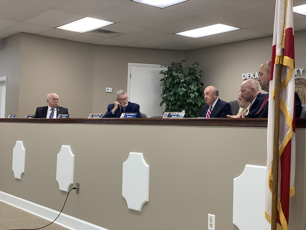 Commission Seeks Solutions at Buck's Pocket