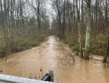 Floodwaters Rise in DeKalb