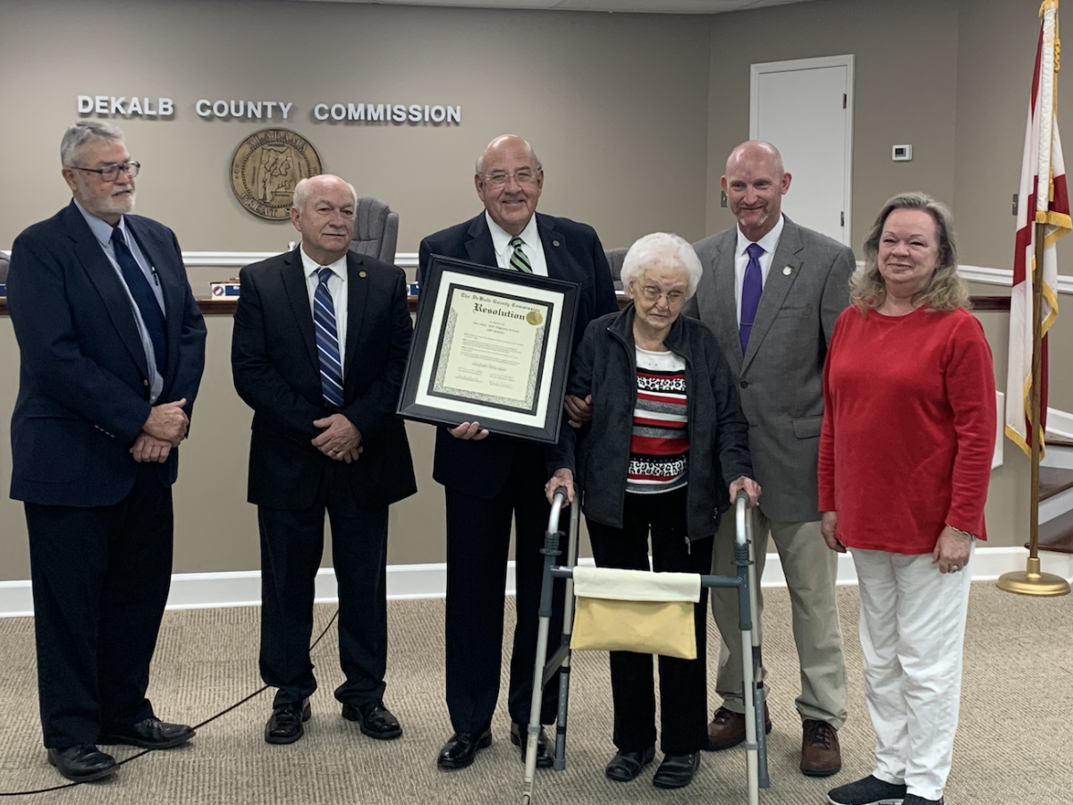 Commission Honors Mary Nell Ridgeway