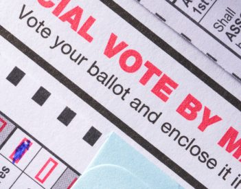 Merrill: Absentee Is The Only Vote-By-Mail Option