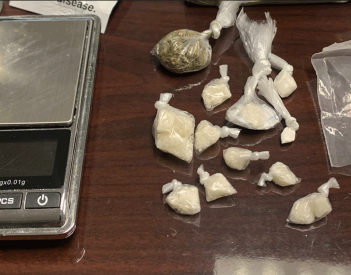Crack Cocaine Seized in Drug Arrests