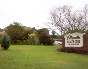 Collinsville Healthcare & Rehab Adds Visitation Booth