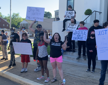 Peaceful Protest in Fort Payne