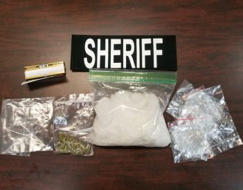 Meth Seized at Traffic Stop
