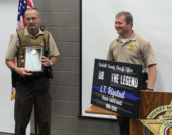 Rigstad Retires from DCSO