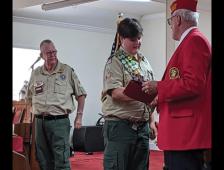 Brown Celebrates 100th Eagle Scout
