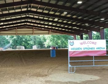 Rosalie Welcomes Hidden Springs Arena