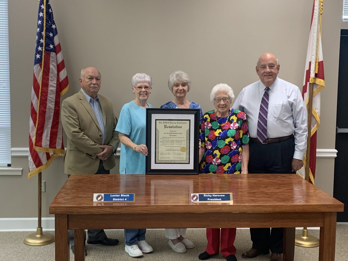 Commission Honors Stiefel for 90th Birthday