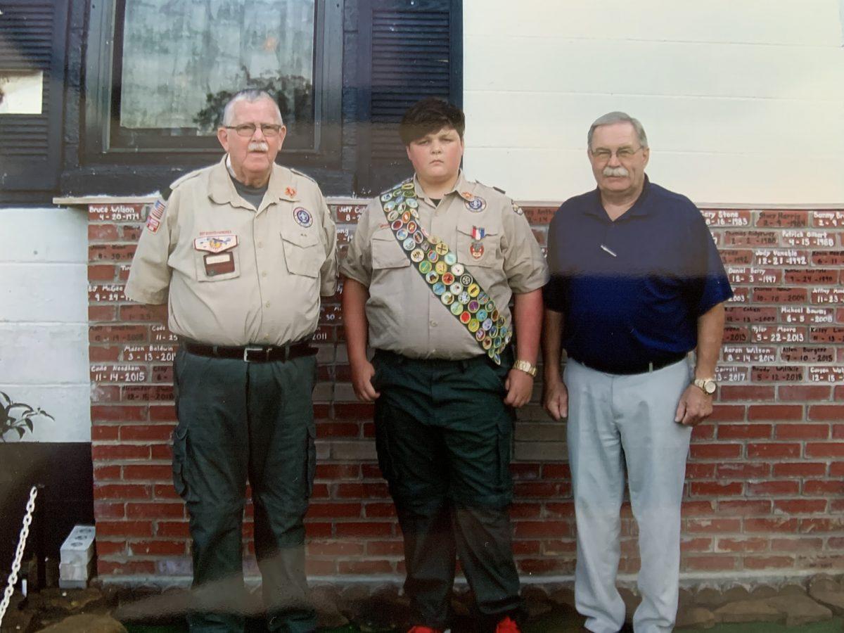 Don Brown Celebrates 100th Eagle Scout