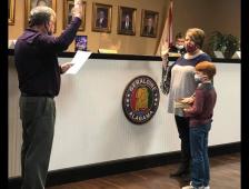 Geraldine Welcomes New Councilmember