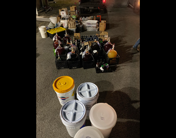 DCSO Discovers Illegal Alcohol Operation