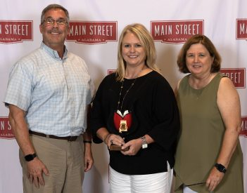 Fort Payne Main Street Honored
