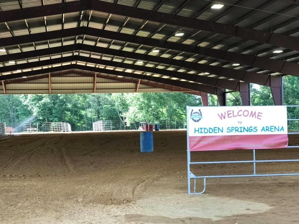 Rosalie Welcomes Hidden Springs Arena
