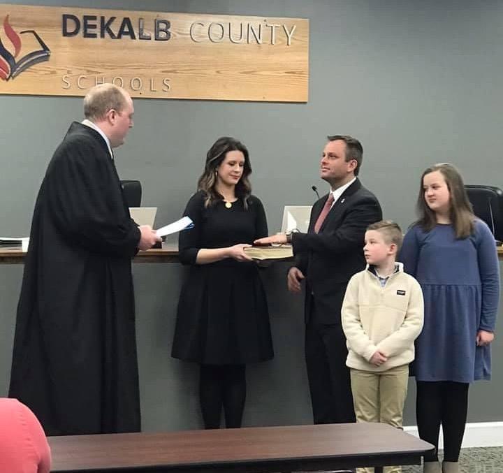 Barnett Sworn in for Second Term