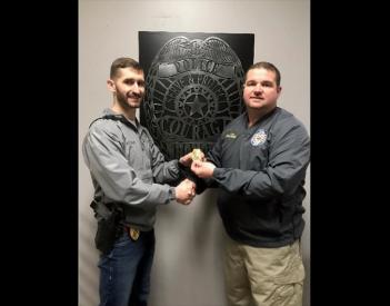 Rainsville Promotes Lt. Wilson