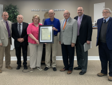 Commission Honors 106-Year-Old Citizen