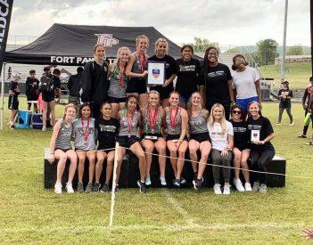 Fort Payne girls' track team breaks 33-year record